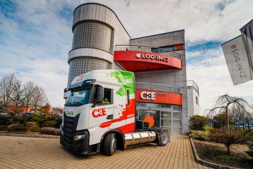 Představujeme vozidla s pohonem na LNG
